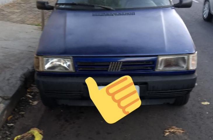 Fiat Uno 1.0 Ie Mille 8v Gasolina 2p Manual Azul Gasolina 1996 Usado