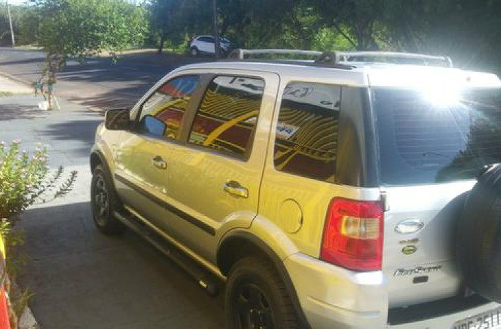 Ford Ecosport 1.6 Xls 8v Flex 4p Manual Preto Flex 2007 Usado