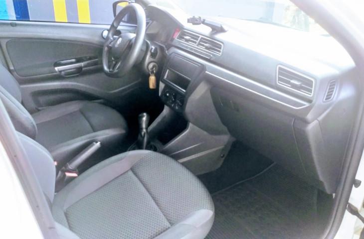 Volkswagen Gol Branco Flex 2019 Usado