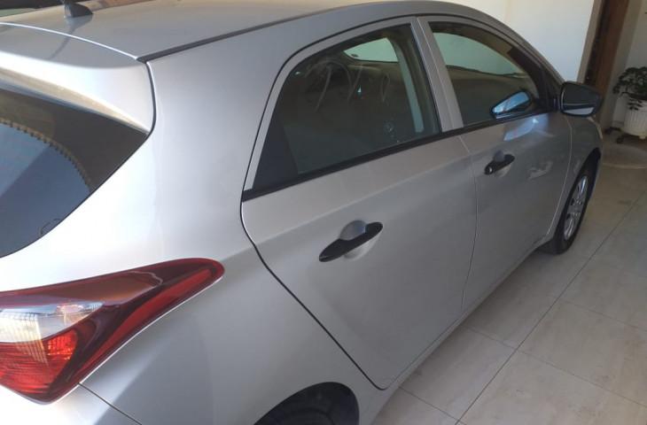Hyundai Hb20 Prata Flex 2019 Usado