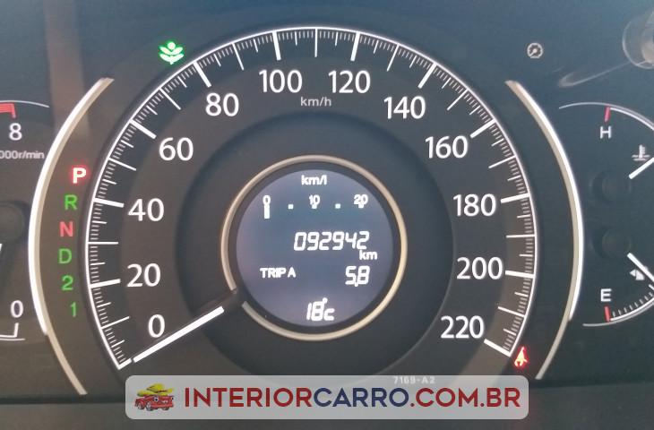 Honda Crv 2.0 Exl 4x4 16v Flex 4p Automático Branco Flex 2015 Usado