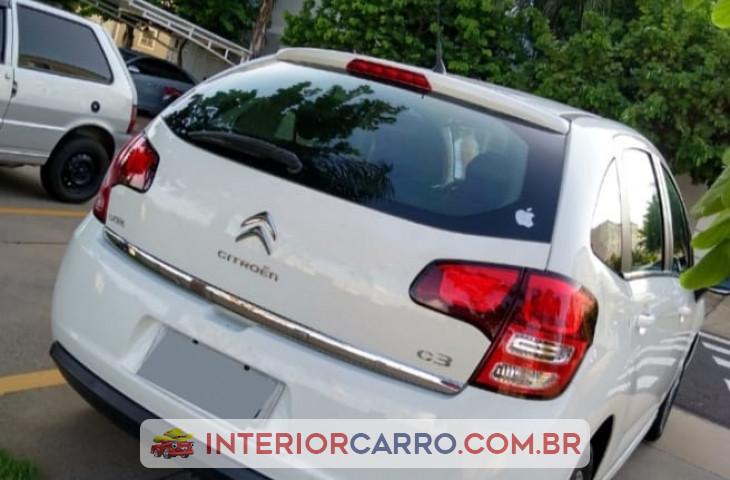 Citroën C3 1.5 Tendance 8v Flex 4p Manual Branco Flex 2013 Usado