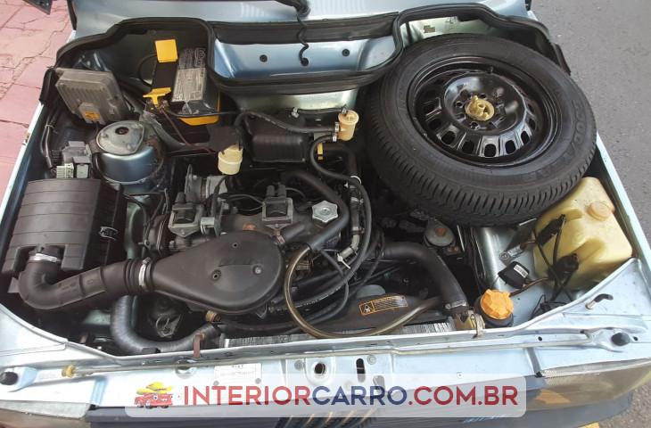 Fiat Uno 1.0 Mille Brio 8v Gasolina 2p Manual Azul Gasolina 1993 Usado