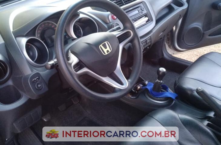 Honda Fit 1.4 Lxl 8v Flex 4p Manual Prata Flex 2009 Usado