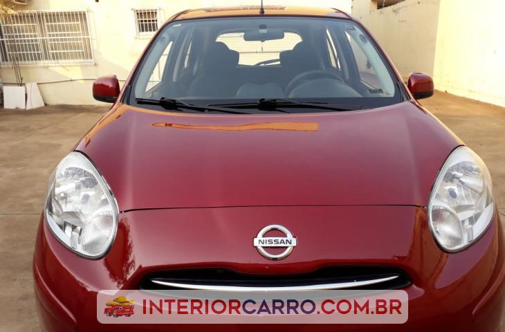 Nissan March 1.0 S 16v Flex 4p Manual Vermelho Flex 2013 Usado
