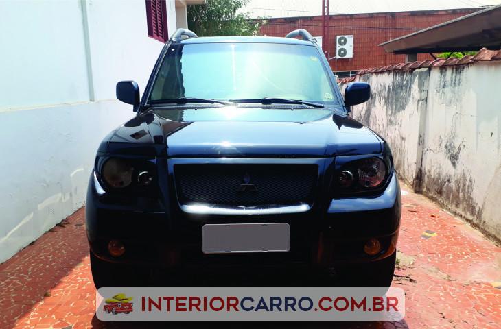 Mitsubishi Pajero Tr4 2.0 4x4 16v 131cv Gasolina 4p Automático Preto Gasolina 2007 Usado