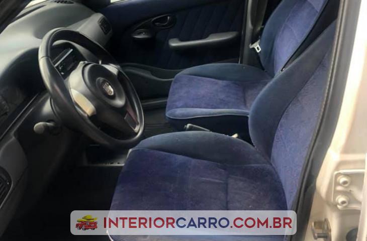Fiat Palio 1.0 Mpi Elx 8v Flex 4p Manual Branco Gasolina 2000 Usado