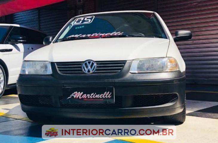 Volkswagen Saveiro 1.6 Mi City Cs 8v Flex 2p Manual G.iii Branco Flex 2005 Usado