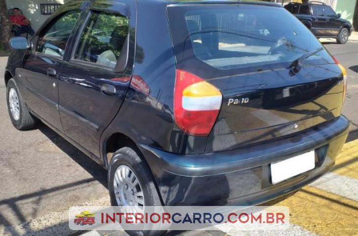 Fiat Palio 1.0 Mpi Fire Ex 8v Gasolina 4p Manual Verde Gasolina 2002 Usado