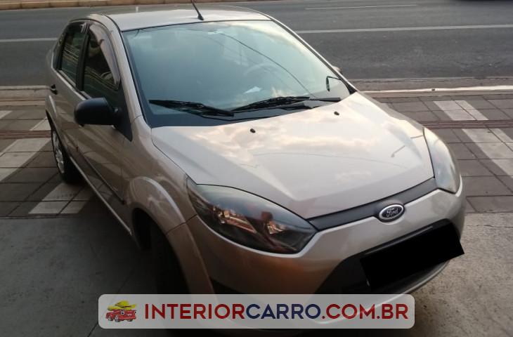 Ford Fiesta 1.6 Rocam Sedan 8v Flex 4p Manual Dourado Flex 2011 Usado