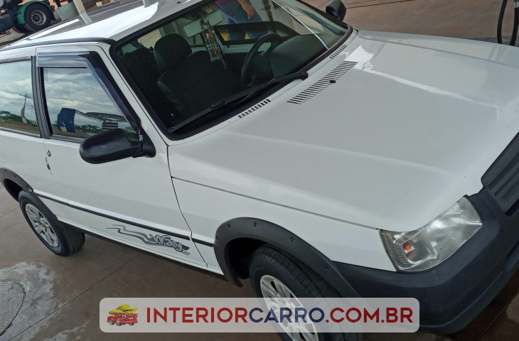 Fiat Uno 1.0 Mpi Mille Fire 8v Flex 2p Manual Branco Flex 2013 Usado