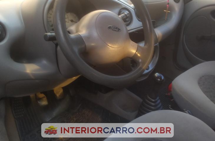 Ford Ka 1.0 I 8v Gasolina 2p Manual Cinza Gasolina 2003 Usado