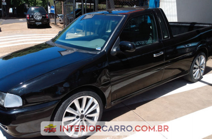 VOLKSWAGEN SAVEIRO 1.6 MI CS 8V GASOLINA 2P MANUAL G.II Usado