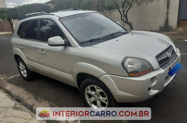 Hyundai Tucson 2.0 Mpfi Gl 16v 142cv 2wd Gasolina 4p Automático Prata Gasolina 2013 Usado