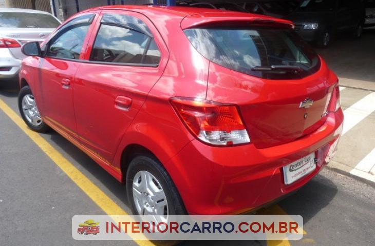 Chevrolet Onix 1.0 Mpfi Lt 8v Flex 4p Manual Vermelho Flex 2014 Usado