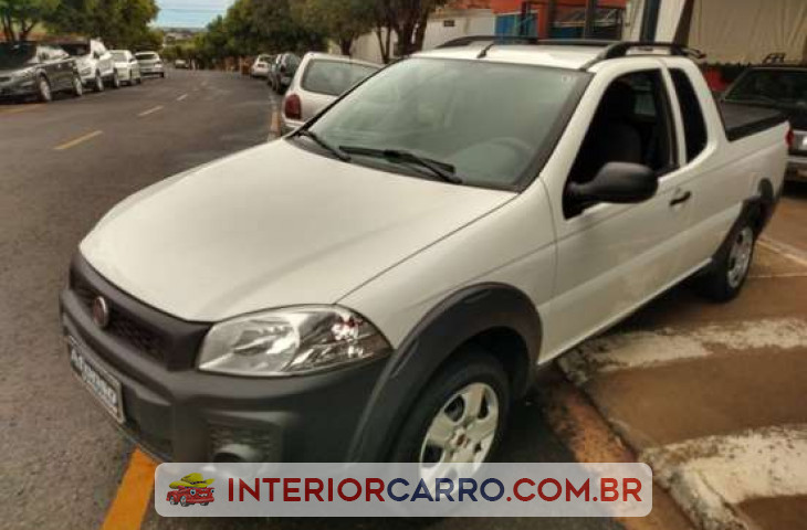 FIAT STRADA 1.4 MPI HARD WORKING CE 8V FLEX 2P MANUAL Usado