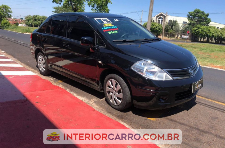 Nissan Tiida 1.8 Sedan 16v Flex 4p Manual Preto Flex 2012 Usado