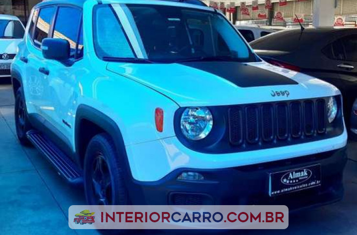 JEEP RENEGADE 1.8 16V FLEX 4P MANUAL Usado