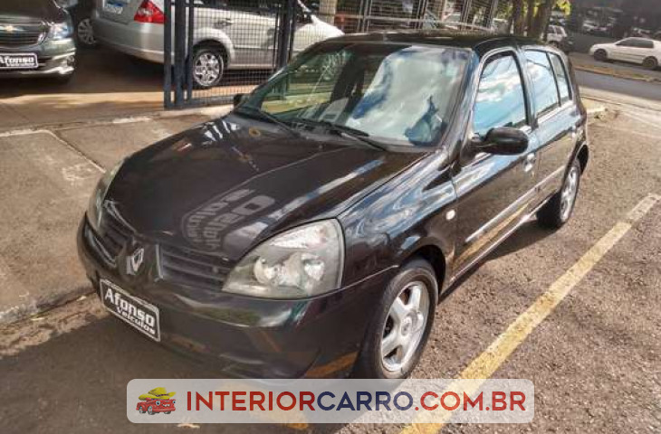 RENAULT CLIO HATCH 1.6 PRIVILÉGE 16V FLEX 4P MANUAL Usado