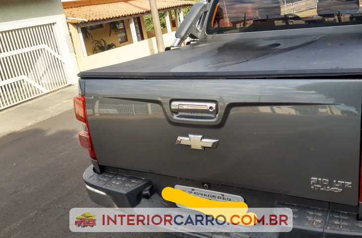 Chevrolet S10 2.4 Ltz 4x2 Cd 8v Flex 4p Manual Cinza Flex 2013 Usado