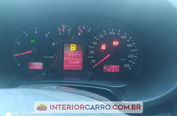 Audi A3 1.8 20v Gasolina 4p Manual Prata Gasolina 2001 Usado