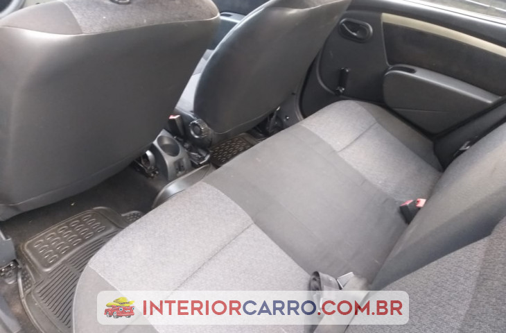 Renault Logan 1.0 Authentique Plus 16v Flex 4p Manual Azul Flex 2008 Usado