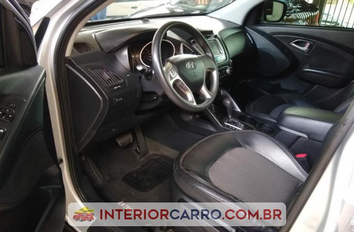 Hyundai Ix35 2.0 Mpfi Gls 16v Flex 4p Automático Prata Flex 2012 Usado
