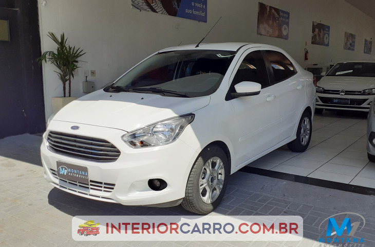 FORD KA SEDAN 1.5 SEL 16V FLEX 4P MANUAL Usado