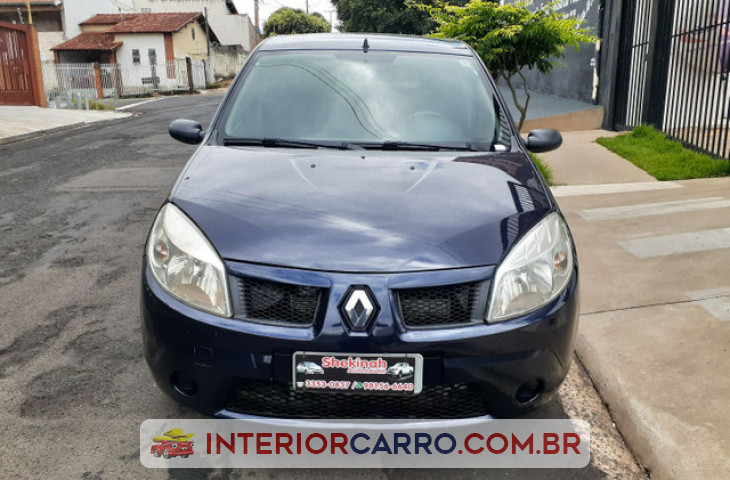 RENAULT SANDERO 1.0 EXPRESSION 16V FLEX 4P MANUAL Usado