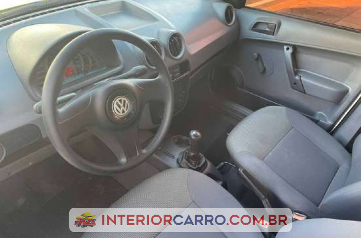 Volkswagen Saveiro 1.6 Mi City Cs 8v Flex 2p Manual G.iv Amarelo Flex 2009 Usado