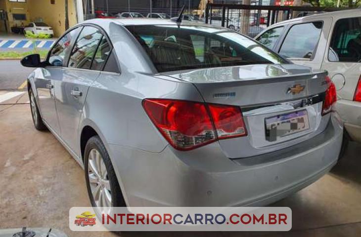 Chevrolet Cruze Sedan 1.8 Lt 16v Flex 4p Automático Prata Flex 2012 Usado