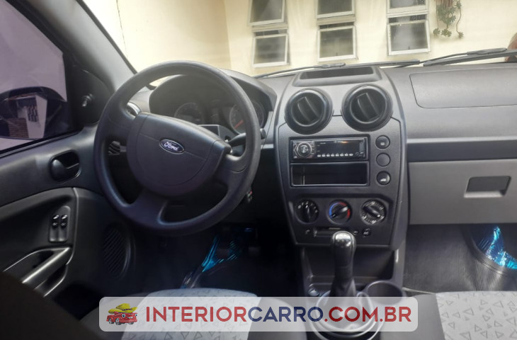 Ford Fiesta 1.6 Se Sedan 16v Flex 4p Manual Prata Flex 2012 Usado