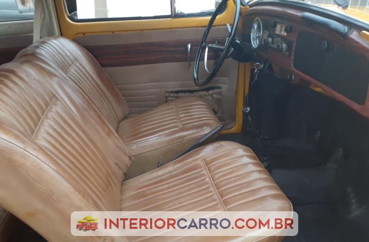 Volkswagen Fusca 1.5 8v Gasolina 2p Manual Amarelo Gasolina 1973 Usado