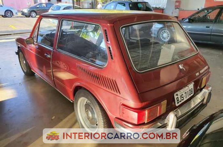 Volkswagen Brasilia 1.6 8v Gasolina 2p Manual Vermelho Gasolina 1973 Usado
