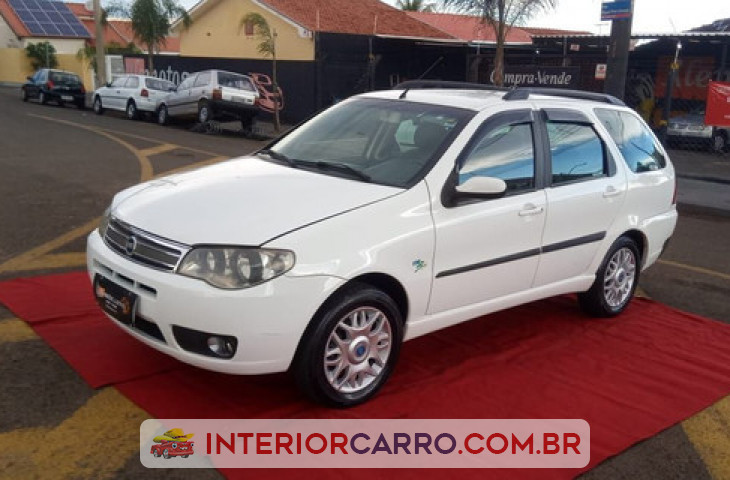 FIAT PALIO WEEKEND 1.8 MPI HLX WEEKEND 8V FLEX 4P MANUAL Usado