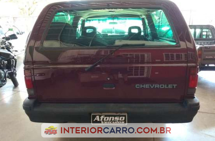 Chevrolet Brasinca 4.0 Cd 8v Diesel 2p Manual Vermelho Diesel 1994 Usado