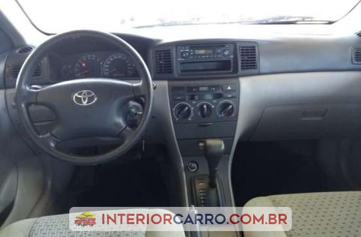 Toyota Corolla 1.6 Xli 16v Gasolina 4p Automático Dourado Gasolina 2008 Usado