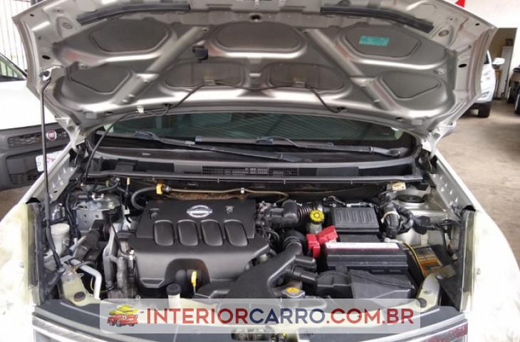 Nissan Livina 1.8 16v Flex 4p Automático Prata Flex 2013 Usado