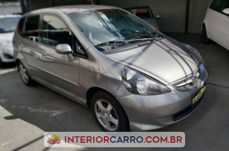 Honda Fit 1.4 Lx 8v Flex 4p Manual Cinza Flex 2008 Usado
