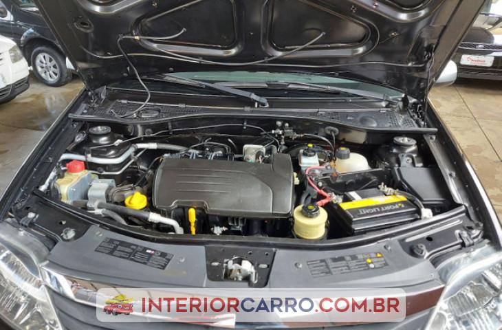 Renault Logan 1.0 Expression 16v Flex 4p Manual Preto Flex 2011 Usado