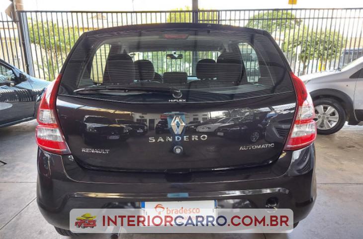 Renault Sandero 1.6 Privilége 16v Flex 4p Automático Preto Flex 2012 Usado