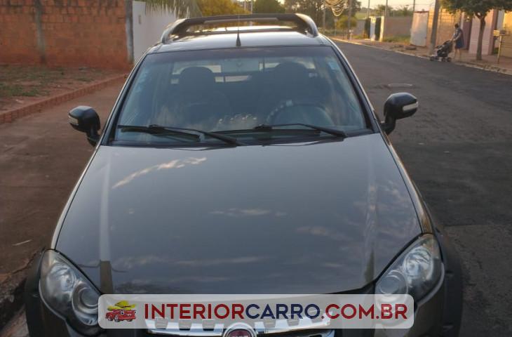 Fiat Strada 1.8 Mpi Adventure Locker Ce 8v Flex 2p Manual Marrom Flex 2010 Usado