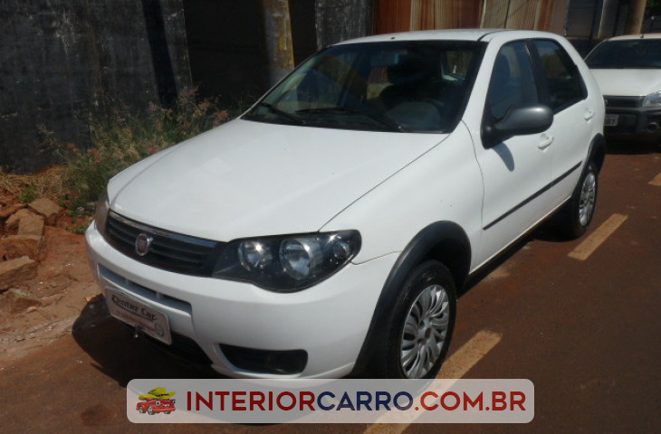 FIAT PALIO 1.0 MPI FIRE WAY 8V FLEX 4P MANUAL Usado