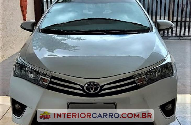 Toyota Corolla 1.8 Gli 16v Flex 4p Automático Prata Flex 2016 Usado