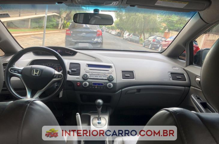 Honda Civic 1.8 Exs 16v Flex 4p Automático Preto Flex 2008 Usado