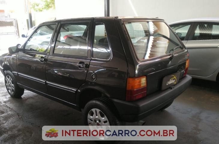 Fiat Uno 1.0 Ie Mille Sx 8v Gasolina 4p Manual Cinza Gasolina 1997 Usado
