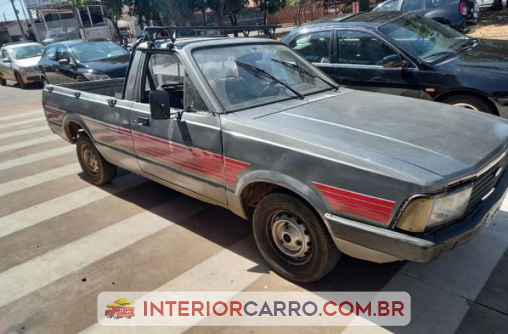 Ford Pampa 1.6 L Cs 8v álcool 2p Manual Cinza álcool 1987 Usado