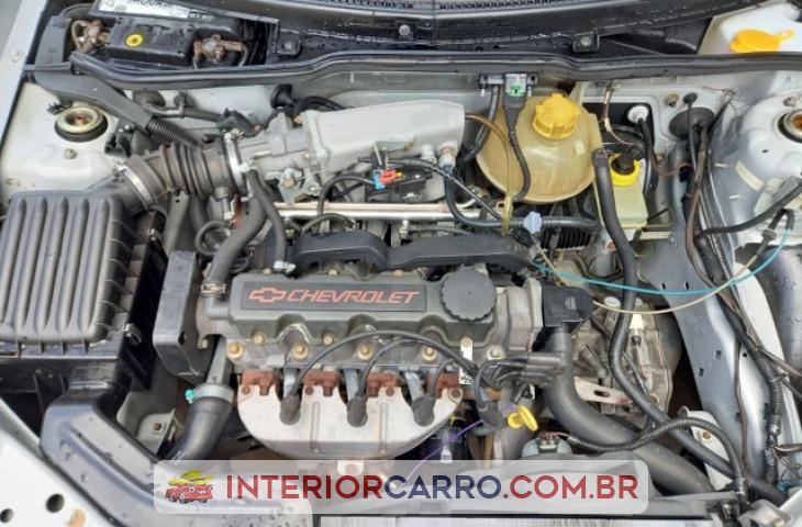 Chevrolet Corsa Hatch 1.0 Mpf Wind 8v Gasolina 2p Manual Prata Gasolina 2001 Usado