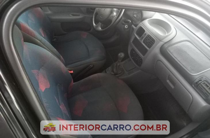 Renault Clio Hatch 1.0 Rn 16v Gasolina 4p Manual Preto Gasolina 2000 Usado