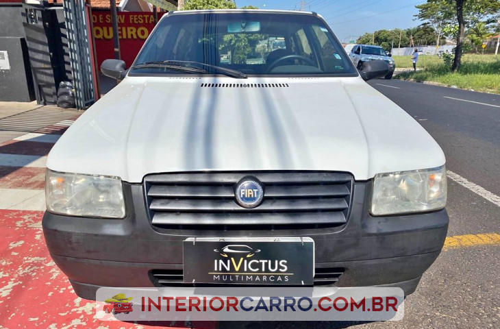 FIAT UNO 1.0 MPI MILLE FIRE 8V FLEX 2P MANUAL Usado